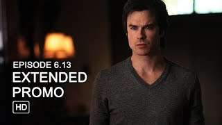 The Vampire Diaries 6x13 Extended Promo - The Day I Tried to Live [HD]