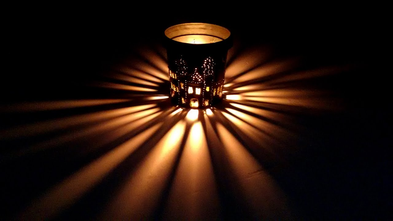 How to make tin can lanterns - Mini Lamps Lantern Diy Turn Your Plastic Containers To Beautiful Lamps Redefine Craft Youtube