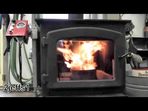 Homemade Waste Oil Burner Heater for Daily Use DIY