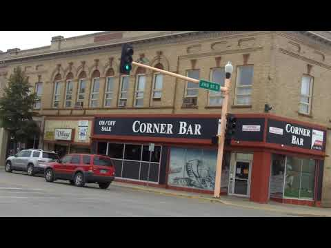 Jamestown North Dakota and it has lots of old business build