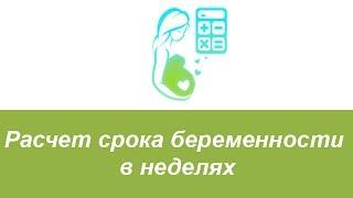 видео Рассчитать срок беременности