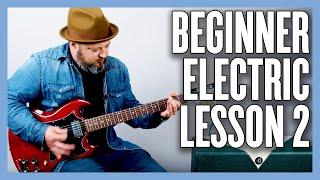 Beginner Electric Guitar Lesson (1 FINGER POWER CHORDS)