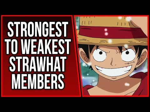 Who Is the Weakest Strawhat   ONE PIECE THEORY   ワンピース