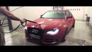 audi a4 custom carbon widebody on adv 1 wheels by wojtsen