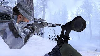Sniper in the Winter Forest - Contingency - Call of Duty: Modern Warfare 2