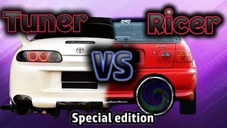 Tuner Vs Ricer Compilation ! (exhaust, Burnouts And Fails) Special Edition.