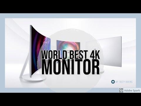 Unboxing Samsung Quantum dot monitor CH711