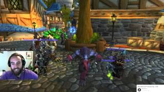 "Warlords of Draenor (Beta) - Hilarious ""/Dance"" Glitch w/ Claws of Shirvallah :D"