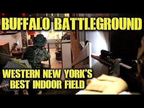 DesertFox Airsoft: Buffalo BattleGround (Western New York's Best Indoor Field)
