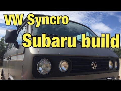 VW Syncro Subaru Build