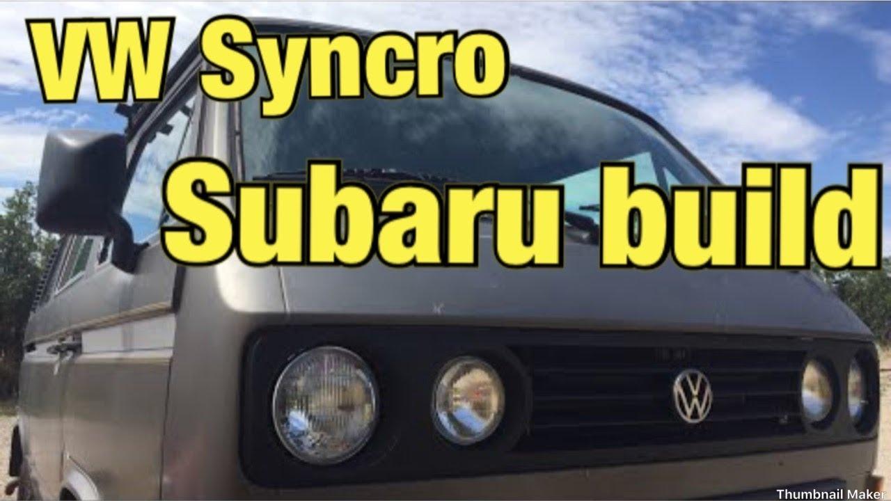 VW Syncro Subaru Build