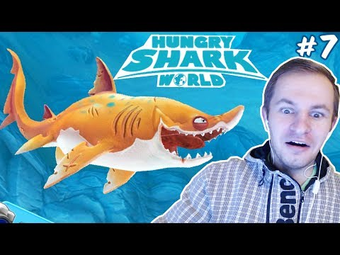 ОБЗОР НА ПЕСЧАНУЮ АКУЛУ | Hungry Shark World #7