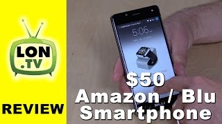 The $50 Amazon / Blu R1 HD Smartphone Review - Prime Exclusive - Lockscreen Offers & Ads