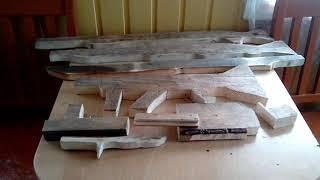 Коллекция самодельных оружий