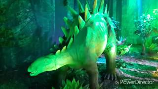 Шоу динозавров. Лубянка. Июль.2016
