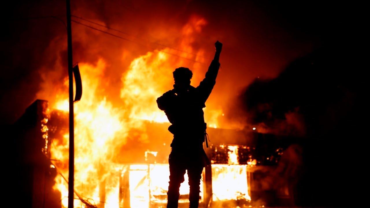 Far-left 'fuelling' violent protests across US