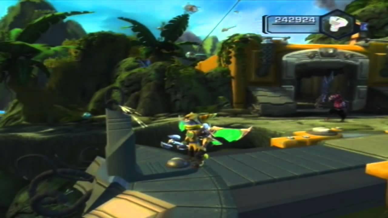 Ratchet Clank Tools Of Destruction Hd Walkthrough All Gold