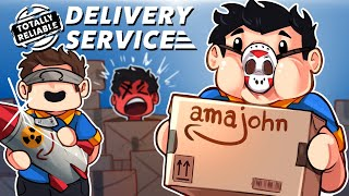 Totally Reliable Delivery Service - NEW CO-WORKERS FOR AMAJOHN!
