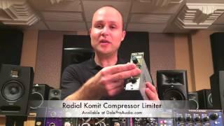 Dale Pro Audio - Radial Komit Compressor Limiter
