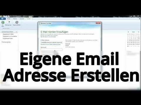 Eigene Email Adresse Erstellen