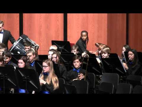 2016 Twin Oaks Middle School Winter Band Concert