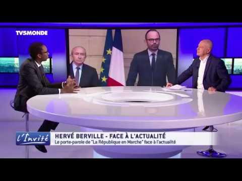 L'invité, TV5 MONDE - 17 janvier 2018