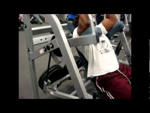 Lat Pullover Machine - YouTube