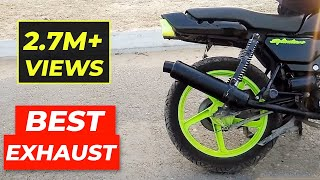 Best Exhaust For My Splendor!! e bike | motogp | bike race | bike stunt | bike rack | stunt bike