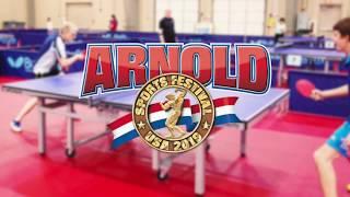 2019 Arnold Table Tennis Challenge Promo