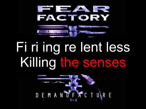 Fear Factory - Demanufacture (Karaoke)