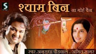 Radha & Krishan Eternal Love Song | Anuradha Paudwal & Amit Saagar श्याम बिन न मोहे चैन