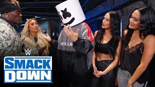 Marshmello stumbles into 24/7 Title win: SmackDown Exclusive, Oct. 4, 2019