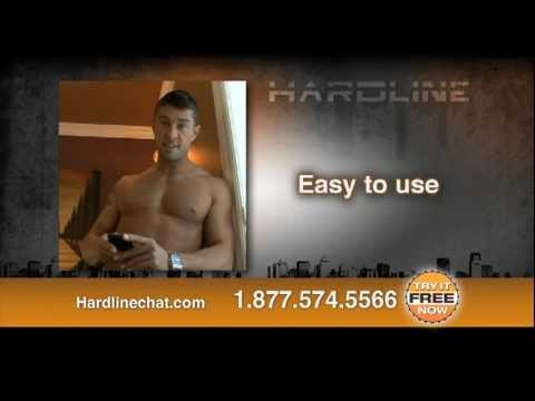 Hardline Chat - Free Gay & Bi Phone Chatиз YouTube · Длительность: 31 с