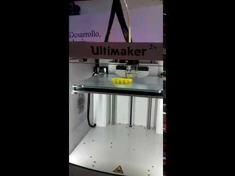 Así funciona una impresora 3D - Expo Santiago 2017