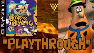 "The Flintstones Bedrock Bowling (PS1) ""Playthrough"""