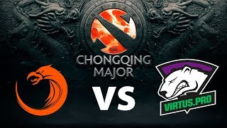 [RU] The Chongqing Major \ VP vs EHOME |1:1| by MaCTePTV