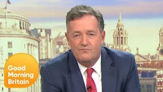 Piers Has New Rules to Follow or He Could Face a Fine | Good Morning Britain