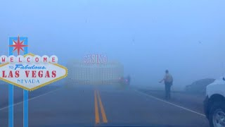 MORON RISKS LIFE IN DENSE FOG and WRECKS HIS CAR IN PURSUIT OF PENNY SLOTS W/ SDGuy1234