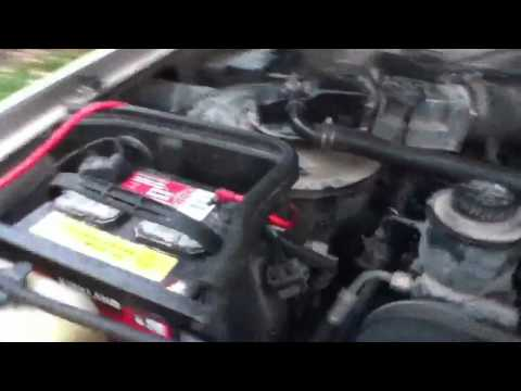 Low Oil Pressure, Possible Knock