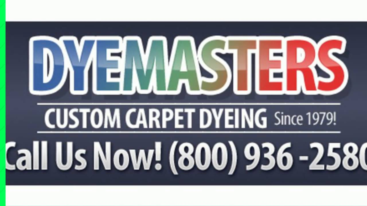 Carpet Dyeing Temecula Dyemasters Carpet Dyeing Services