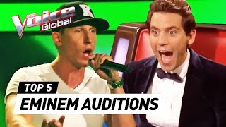 Download BEST EMINEM's Lose Yourself Blind Auditions in The Voice Mp3 and Videos