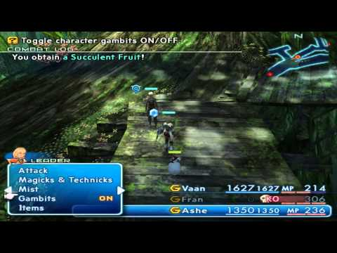Let's Play - Final Fantasy - XII - 32 - This Game Needs More Jungles