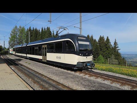 cab ride MVR line Vevey-Les Pleiades