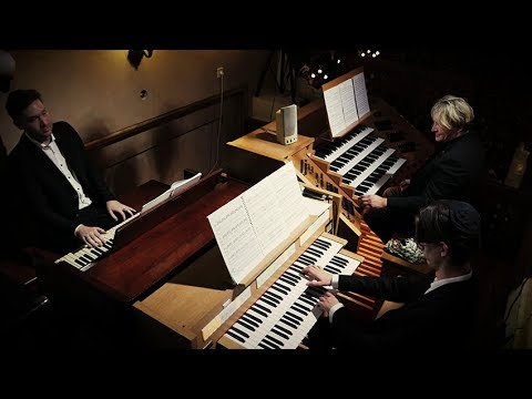 MORRICONE & ROTA CINEMUSIC MEDLEY FOR 3 ORGANS - XAVER VARNUS (BUDAPEST GREAT SYNAGOGUE)