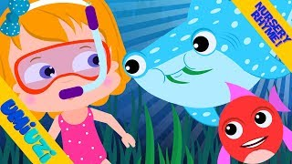 Umi Uzi Willy Vegetarian Shark Nursery Rhymes For Kids Videos For Childrens