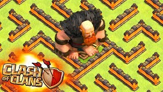 DEVİN LABİRENT'le İMTİHANI !!! Clash Of Clans