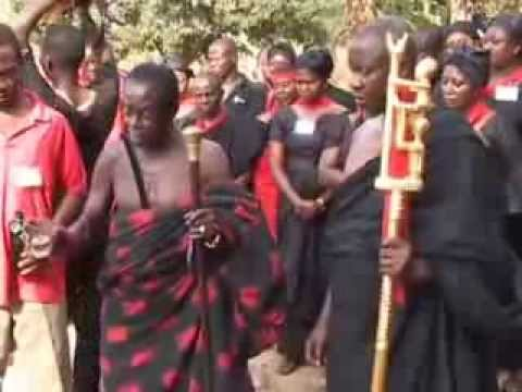 The Death of an African King: The Funeral of the Omanhene of Techiman