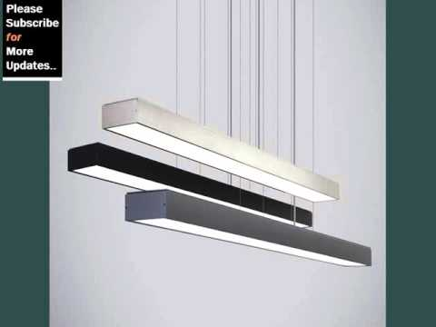 Modern linear pendant light youtube modern linear pendant light aloadofball Gallery