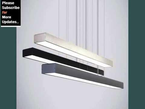 modern linear pendant light