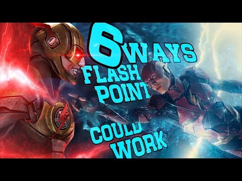 6 Ways a Flashpoint Movie Could Work in the DCEU